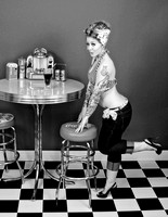Kandie M {Soda Shop Pinup Session}