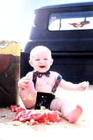Atticus | One Year Cake Smash Session
