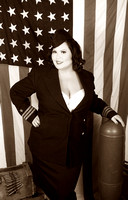 Jessica | War Front Military Pinup Session