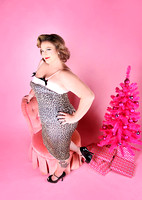 Kristin | Classic Pinup Holiday Session